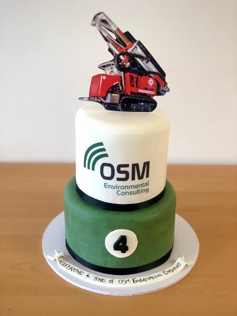 OSM Environmental Consulting 4 year Anniversary Cake