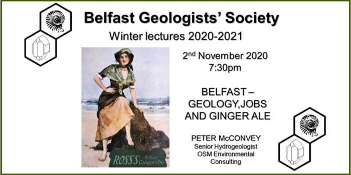 Geology, Jobs, Ginger Ale: OSM's Peter McConvey Guest Lectures At Belfast Geologists' Society