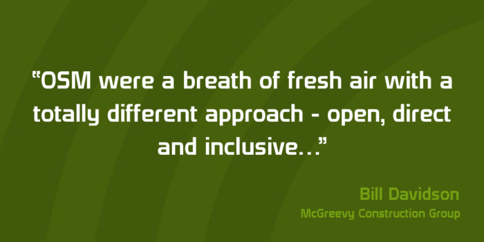 Client Testimonial From Bill Davidson Of McGreevy Construction Group