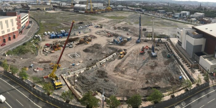 Construction Works Begin At Titanic Quarter's Olympic House After OSM Environmental Consultants (Belfast) Successful Assessment