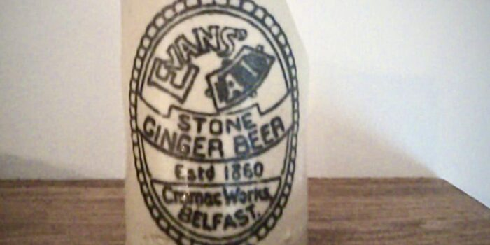 Showing Historic Ginger Beer Bottle Unearthed By OSM Hydrogeologist In Belfast