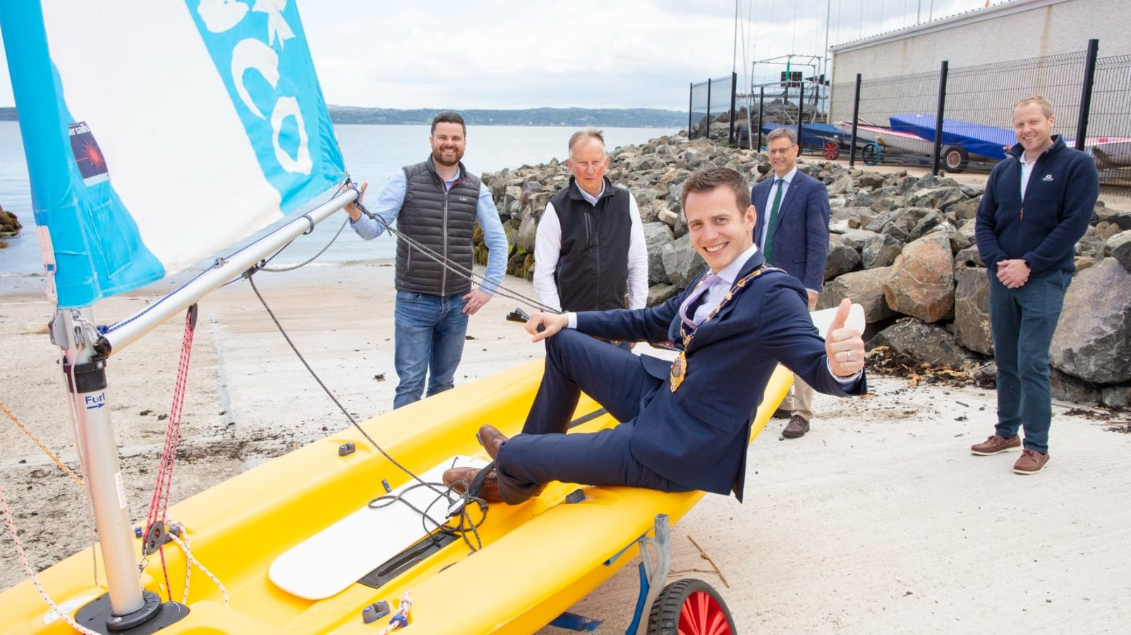 Plain Sailing For MEA Council And Carrickfergus Sailing Club With OSM